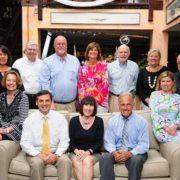 Board of Directors 2016 - Pictured from left to right: Front row: Jane Webster, Scott Brown, Loretta Michael, John Graham, Nancy Sugg; Back row: Dorothy Hester, Chris Seawell, Bob Muller, Teresa Osborne, Ray White, Deloris Harrell, Scott Leggat