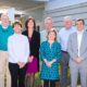 Community Foundation Board of Directors (Left to right, back: Greg Honeycutt, Ray White, Teresa Osborne, Bruce Austin, Chris Seawell, Clark Twiddy and front: Nancy Caviness, Nancy Sugg, Scott Brown, Loretta Michael)